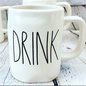 Rae Dunn coffee mug cup DRINK
